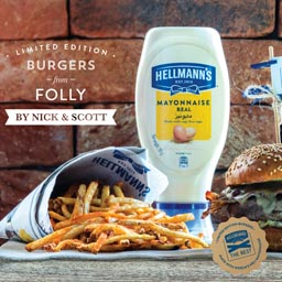 Hellmann's Arabia To Launch A Special Burger In Collaboration With Folly By Nick & Scott (via lavinaisrani.com)
