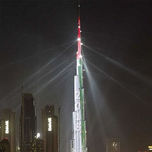 Enjoy the Burj Khalifa laser show with a meal for Dhs99 (via Time Out Dubai)