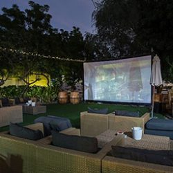 A new outdoor cinema opens in Dubai tonight (via What's On)