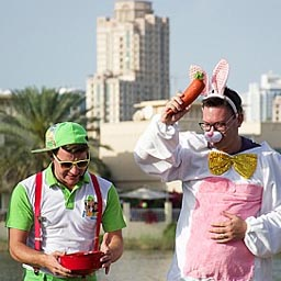 There's a free kids' festival on Easter weekend (via Time Out Dubai)