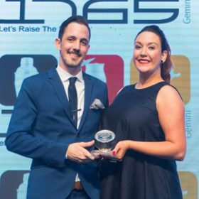 Raven Rudolph flies to finish line as Bar Manager of the Year 2018
