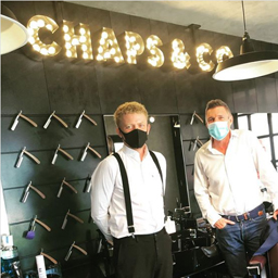 Chaps and Co. barbershop are available at Reform Dubai