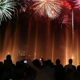 Where to watch New Year's Eve fireworks in Dubai