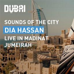 Sounds of the City: Dia Hassan – live at Madinat Jumeirah | Visit Dubai
