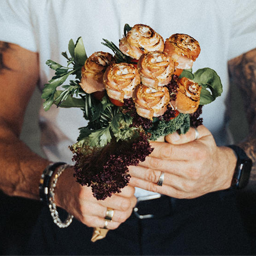Reform's bacon bouquets are a must for meat lovers this Valentine's
